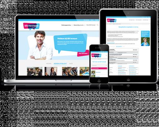 Responsive webdesign SBI Formaat